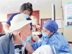 天津:60岁以上人群疫苗接种工作启动 接种服务进养老院