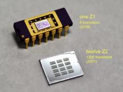 天才少年在家自制芯片:媲美英特尔 4004 CPU