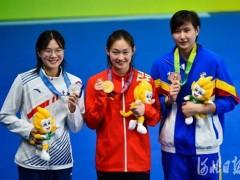 聚焦全运会|李冰洁800米自由泳夺冠收获个人第三金
