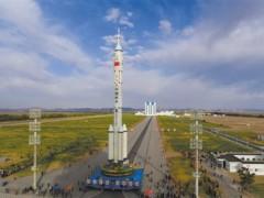 神舟十三号近期择机发射 船箭组合体转运至发射区